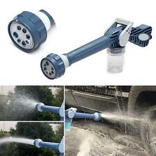 8in1 Multi Function Ez Jet Water Soap Cannon Dispenser Nozzle Spray Gun Cleaning