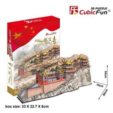 New The Hanging Temple China Building 3D Model Jigsaw Puzzle 193 Pieces MC204H
