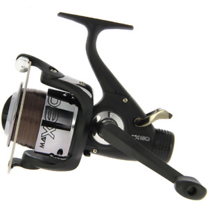 AP MAX 60 Carp Fishing 2BB Free Runner Reel Pre-loaded with 10lb Line
