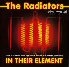The Radiators-In Their Element-Best Of CD 1995 EMI Music Australia RARE-8146242