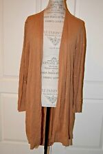 Michael Kors long open front cardigan Large Viscose Studded