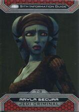 Star Wars Chrome Perspectives II Base Card 7-S Aayla Secura