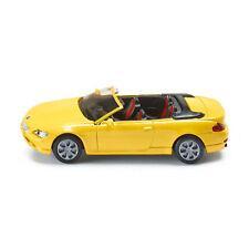 Siku 1007 BMW 645i Cabrio Amarillo Coche a escala (blister) NUEVO !°