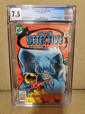CGC 7.5 Detective Comics #474, First Modern appearance of Deadshot, DC 12/77