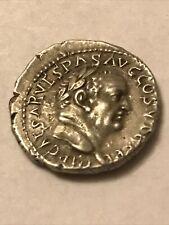 More details for roman denarius for vespasian emperor flavian dynasty reverse goddess in concord