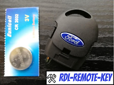 FORD MONDEO FOCUS TRANSIT CONNECT 3 BUTTON REMOTE ALARM KEY FOB FULLY WORKING