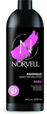 Norvell Professional DARK Sunless Airbrush Spray Tan Solution 33.8 oz Liter