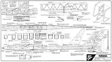 Antares 100 r/c glider plans and instructions