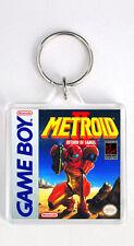 METROID 2 RETURN OF SAMUS NINTENDO GAME BOY KEYRING LLAVERO