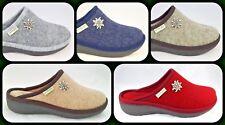 Ciabatte Pantofole Donna Grunland ALDE CI0938 Feltro Lana Cotta Made In Italy