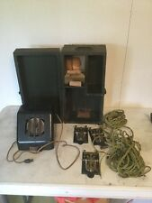 Vintage Military Telegraph Box