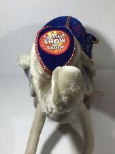 """Ringling Bros and Barnum and Bailey Circus 130th Elephant 20"""" Plush 1999 Tags"""