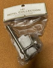 Hotel Collection Toilet Paper Holder Wall Silver New