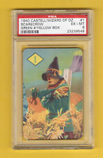 The Wizard of Oz 1940 Castell Card  Scarecrow PSA 6 EX-MT Have a Look!