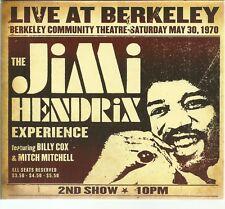 JIMI HENDRIX - LIVE AT BERKELEY - CD MCA 2003