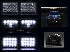 H6014 H6052 H6054 4x6 15 White Full HID CREE LED Dual Beam Headlights