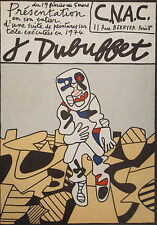 Jean DUBUFFET (1901-1985) Affiche pour le C.N.A.C.,  P1680