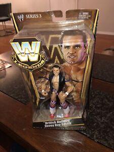 "Mattel 2010 WWE Legends Series 3 ""BRITISH BULLDOG"" DAVEY BOY SMITH Sealed"