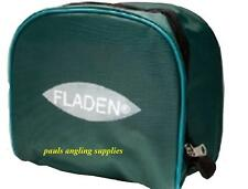 4 Fladen Large   Padded Fishing Reel Cases  Green