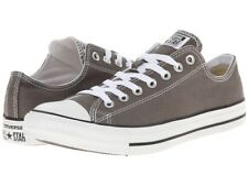 BN Converse Chuck Taylor All Star Low Grey Canvas Trainers Baseball Shoes sz 12