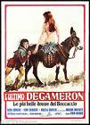 L'ULTIMO DECAMERON MANIFESTO CINEMA EROTICO FEMI BENUSSI 1971 MOVIE POSTER 2F