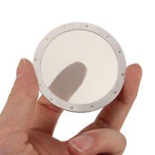Metal Coffee Filter Mesh Disc For Aeropress coffeemaker Reusable Stainless Steel
