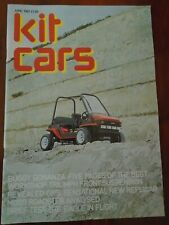 Kit Cars Jun 1982 Moss Roadster, Buggy, Eagle