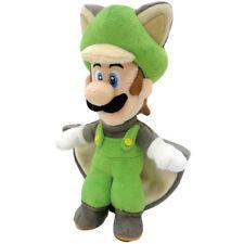 """Super Mario Flying Squirrel Luigi 9"""" Plush Toy"""