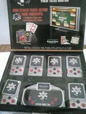 WSOP Texas Hold 'em Poker Wireless Plug & Play TV Game Excalibur VR39-CC