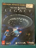 STAR TREK LEGACY (PRIMA OFFICIAL STRATEGY GAME GUIDE) VERY GOOD (2006 M. Knight)
