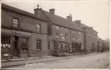 Tean between Uttoxeter & Stoke on Trent. High Street & Post Office by Rotophoto.