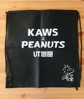 KAWS x UNIQLO Peanuts Snoopy Novelty Bag backpack 2017 NEW