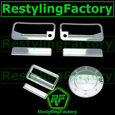 88-98 CHEVY C+K TRUCK PICKUP Chrome 2 Door Handle+PSG KH+Tailgate+Gas Cover