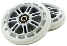 Razor A Scooter Series Wheels w/Bearings (set of 2) - Clear 134932-CL NEW
