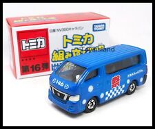 TOMICA ASSEMBLY FACTORY 16 NISSAN NV350 CARAVA VAN BLUE 1/69 TOMY DIECAST 18