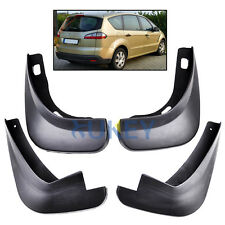 SET FIT FOR 2006~2015 FORD S-MAX MOLDED MUD FLAP FLAPS SPLASH GUARD MUDGUARDS