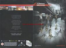 """Flashpoint Red River """"Ou 21.04.11"""" 2011 Magazine 2 Page Advert #5004"""