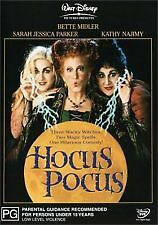 HOCUS POCUS - BRAND NEW & SEALED R4 DVD - DISNEY (SARAH J. PARKER, BETTE MIDLER)