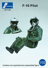PJ Productions 1/32 F-16 Pilot Seated in A/C # 321120