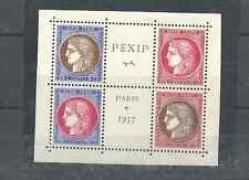 FRANCE 1937 PEXCIP SCOTT 329A-329D MNH.