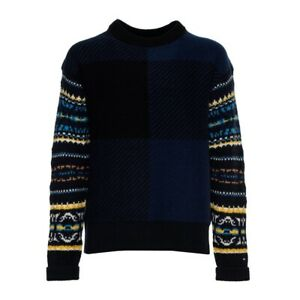 TOMMY HILFIGER Pullover Wolle SW2 HOODIE MW0MW08601  M-L-XL