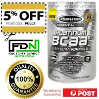 MuscleTech Platinum BCAA 8:1:1 200 Caplets PURE BRANCHED CHAIN AMINO ACIDS 811