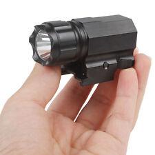 Hunting 200LM Gun Flashlight Tactical Rifle Light Torch Strong LED Shotgun Lamp