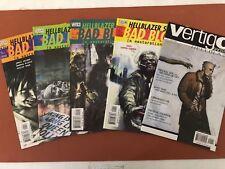 HELLBLAZER: The Books of Magic #1 & 2 + Bad Blood #1 - 4 + Vertigo Secret Files
