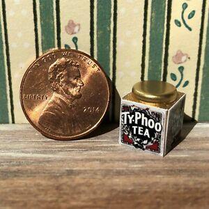 Dollhouse miniatures Beverage 1:12 English Tea Tin
