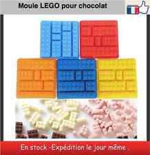 Moules chocolat glace sucre glaçon en forme de LEGO