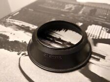 Genuine Olympus Rubber Lens Hood - OM Zuiko 28mm f/2.8 & f/3.5 - 49mm