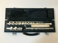Yamaha 285SII Open Hole Nickel Silver Flute USED Great for Beginner or Student