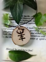 Weight loss diet necklace. Witchcraft sigil rune spell necklace. Pagan Wiccan