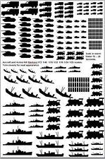 Kill Marking Decals 1/16 1/24 1/25 1/35 1/32 1/48 1/72 Scales US German RAF